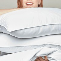 White Goose Down Pillows by Peacock Alley