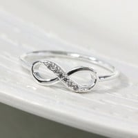 Dainty Infinity Ring 8.5 Size In Si.. on Luulla