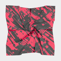 Hot pink digital art G75 Square Scarf Square Scarf