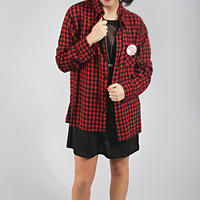Jac Vanek come as you are cool blue flannel
