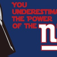 New York Giants Star Wars Sport Team Digital Printing Flags Banners 3x5FT 100D Polyester Flag metal Grommets 90*150 CM