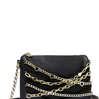 BETSEYS CHAIN HANG CROSSBODY