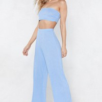 The Perfect Fit Bandeau Top and Pants Set