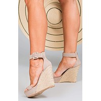Wren Braided Strap Wedges