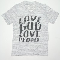 Love God Love People - Tee