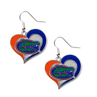 Florida Gators Women's Swirl Heart Earrings