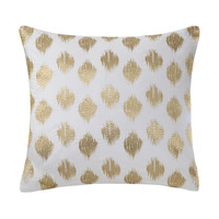 Ink+Ivy Nadia Dot Embroidered 18-inch Cotton Throw Pillow | Overstock.com Shopping - The Best Deals on Throw Pillows