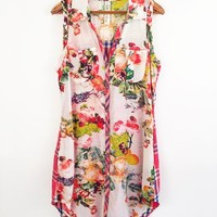 Tickle My Fancy Floral Printed Dress