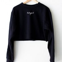 Babygirl ♥ Cropped Sweater