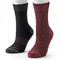 Columbia 2-pk. Space-Dyed Thermal Crew Socks - Women