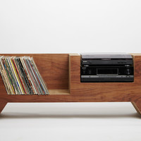 Cardboard Record Player Console