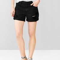 Gap Women 1969 Destroyed Sexy Boyfriend Denim Shorts