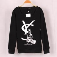 Strong Character Plus Size Pullover Tops Hoodies [11055883783]