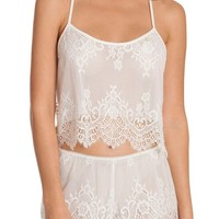 In Bloom By Jonquil Lace Short Pajamas | Nordstrom