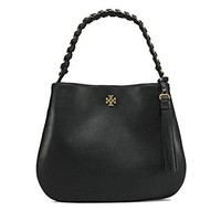 Tory Burch Brooke Leather Hobo Shoulder Bag