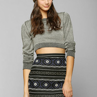 Staring At Stars Intarsia Knit Skirt - Urban Outfitters