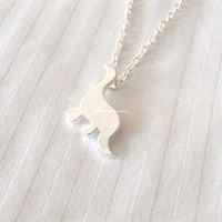 Tiny Dinosaur Necklace