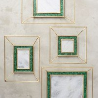 Courtyard Frame by Anthropologie in Green Size: