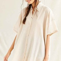 Mixed Business Classic Oversized Shirt