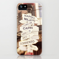 Lead me to Italy iPhone & iPod Case by Jillian Audrey