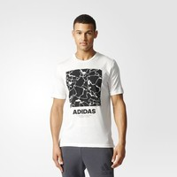 adidas Structure Tee - White | adidas US
