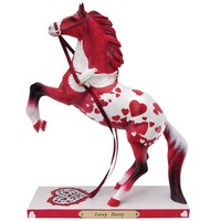 Enesco Trail of Painted Ponies Lovey Dovey Figurine, 8.5-Inch
