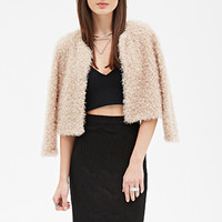 FOREVER 21 Scallop Lace Pencil Skirt