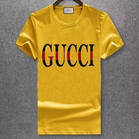 Trendsetter Gucci  Women Man Fashion Simple Shirt Top Tee