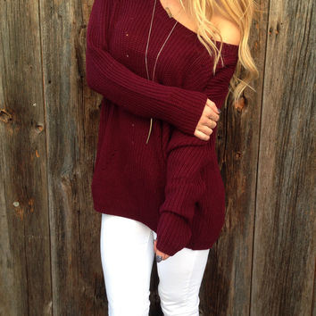 Cabin Fever Sweater