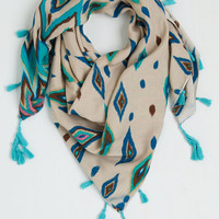 Boho Radiant Repertoire Circle Scarf by ModCloth