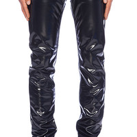 Marc by Marc Jacobs Syd PVC Pant in Navy