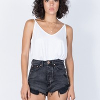 The Vintage Denim Shorts