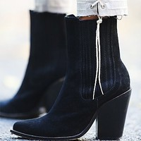 Jeffery Campbell Womens Bromley Point Boot