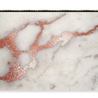 Rose Gold Marble 5 Carry-all Pouch