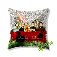 Paramore Cover Square Pillow Cover