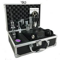 Universal E-Nail with Quartz Banger & Direct Inject Nails - Complete Kit