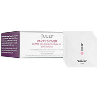 Julep Party's Over Glitter Nail Polish Removal Kit Refill Packettes