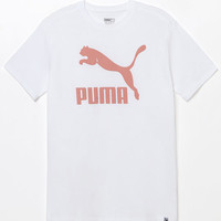 Puma Archive Logo White T-Shirt at PacSun.com
