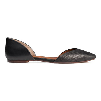 H&M - Leather Flats