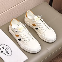 prada men fashion boots fashionable casual leather breathable sneakers running shoes 58