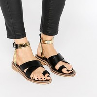 ASOS FLY BY Western Flat Sandals