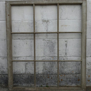 Antique pine window frames