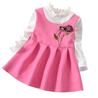 Children Girls Dress Spring Autumn Baby Girl Princess Party Dress Kids Girl Wedding Dress Costume for Baby Girl Clothes