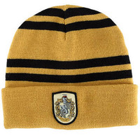 Harry Potter Hufflepuff Beanie Hat | HarryPotterShop.com