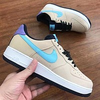 Nike Air force 1 Low New fashion hook couple running shoes-2