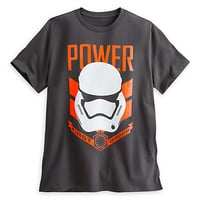 Stormtrooper ''Power'' Tee for Adults - Star Wars: The Force Awakens