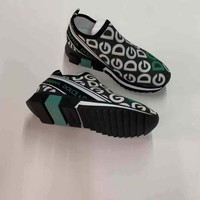 2020 new Dolce&Gabbana DG womens  Fashion Print Low-Top Sneakers SHOES TOP Quality