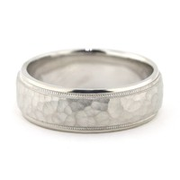Men's Wedding Band - Rocky