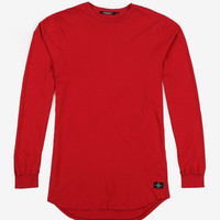 L/S Tail Tee (Red)