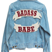 Badass Babe Denim Jacket